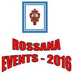 ROSSANA EVENTS 2016
